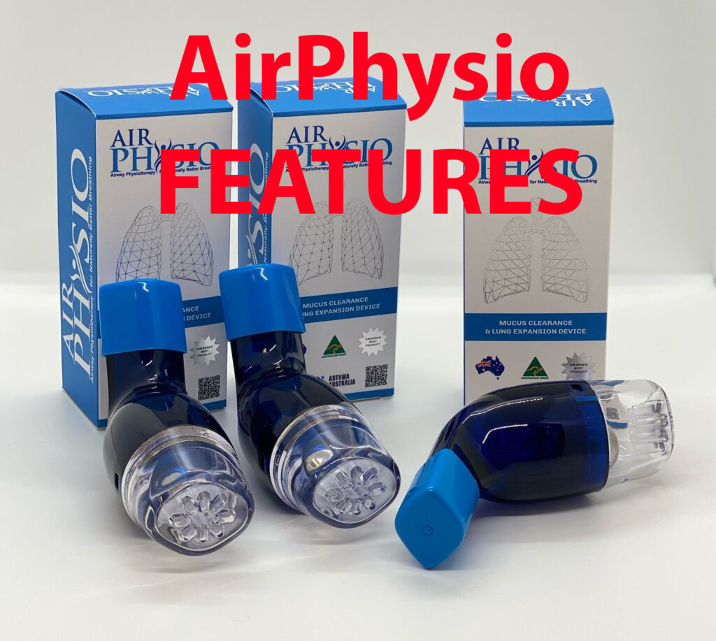 features of AirPhysio